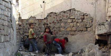 """""""Lost childhood - Children of Aleppo, Syria,"""" by Freedom House. (CC BY 2.0)"""