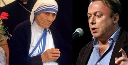 Mother Teresa and Christopher Hitchens