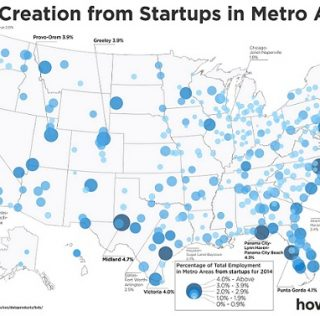Map Shows Startup Capital is Not San Fran, It's In Texas!