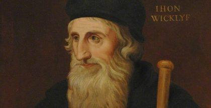 Kirkby, Thomas; John Wycliffe (c.1330-1384); Balliol College, University of Oxford; http://www.artuk.org/artworks/john-wycliffe-c-13301384-221608
