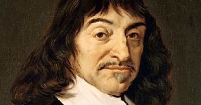 French philosopher Rene Descartes