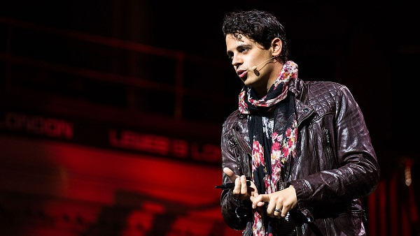 Milo Yiannopoulos speaking in 2013.