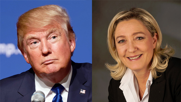 Trump and Le Pen
