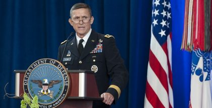 Ousted National Security Advisor General Michael Flynn