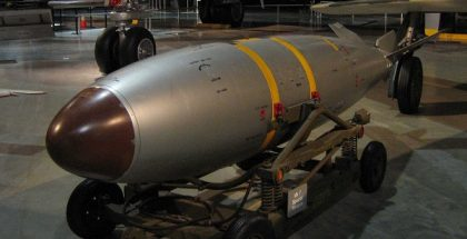 Mark 7 nuclear bomb at USAF Museum