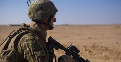 Crucible of cooperation U.S. Marines, Georgians keep Taliban off balance