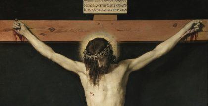 Christ crucified by Diego Velázquez (c. 1632)
