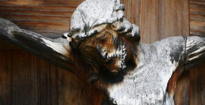 Cross Carved Wooden Cross Crucifix Wayside Cross