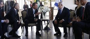 Brazil's New President Embraces Israel (Literally) And Is World's Best Performing Stock Market