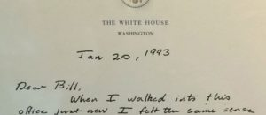Media Loves Bush's Gracious 1993 Letter to Clinton Now,  Why Not in 2000 Recount?